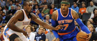 Melo, Knicks on sizzling 13-1 ATS run