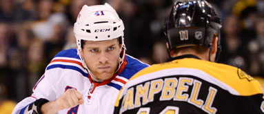 Bruins-Rangers rematch: This one could get nasty