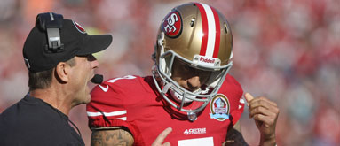 Kaepernick not the biggest reason behind Niners 'over' streak